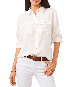 VINCE CAMUTO - Roll Tab Button Down Shirt