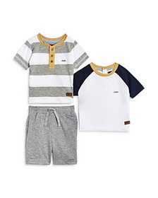 7 For All Mankind - 3-Piece Shorts & Tee Set - Bab