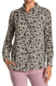 PHILOSOPHY Floral Button Front Tunic Shirt
