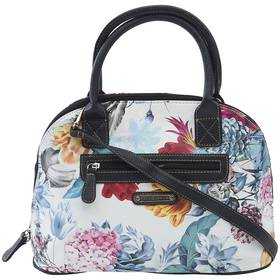 Stone Mountain Floral Printed Large Dome Satchel
