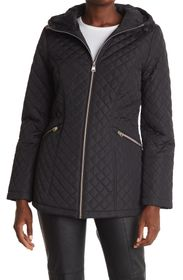 KENNETH COLE NEW YORK Quilted Anorak Jacket