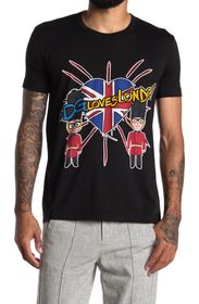 DOLCE AND GABBANA #DG Loves London Graphic T-Shirt