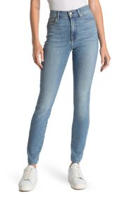 7 FOR ALL MANKIND High Waist Ankle Cut Jeans