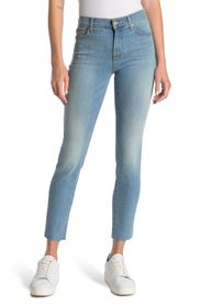7 FOR ALL MANKIND Roxanne Ankle Crop Cutoff Skinny