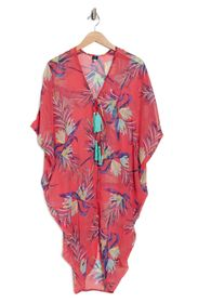 ECHO Paradise Palms Tropical Tassel Cover-Up