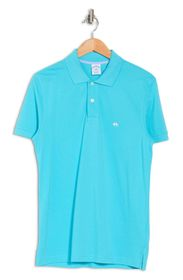 BROOKS BROTHERS Pique Knit Polo Shirt