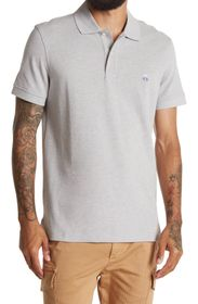 BROOKS BROTHERS Spread Collar Short Sleeve Knit Lo