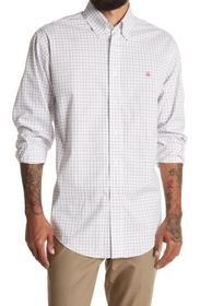 BROOKS BROTHERS Grid Button Front Shirt