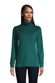 Lands End Women's Relaxed Seamless Turtleneck