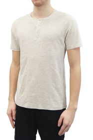 HEDGE Ottoman Ribbed Henley