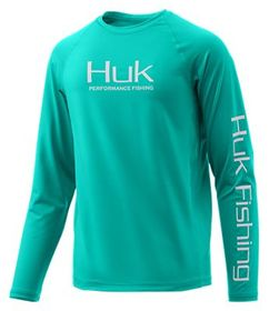 Huk Pursuit Vented Long-Sleeve T-Shirt for Kids