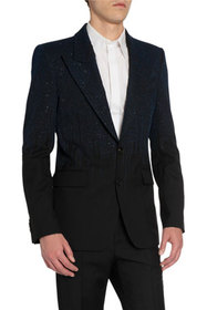 Givenchy Men's Embroidered Peak-Lapel Two-Button J