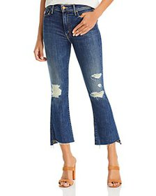 MOTHER - The Insider Cropped Jeans in Wicked Wildf