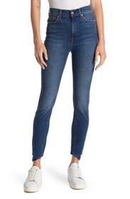 7 FOR ALL MANKIND Gwen Splice High Waist Ankle Jea