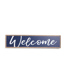 7x30 Welcome Wooden Wall Sign