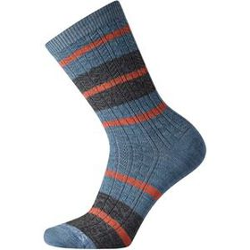 Smartwool SmartwoolEveryday Striped Cable Crew Soc