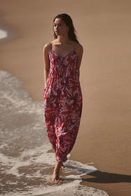 Anthropologie Claire Colin Abstract Jumpsuit