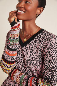 Anthropologie Montage Knit Pullover