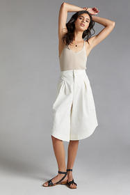Anthropologie Pleated Culottes