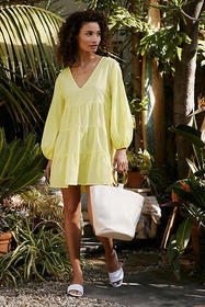 Anthropologie Agatha Cover-Up Tunic Dress