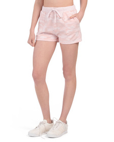French Terry Camo Shorts