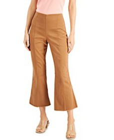 INC Cropped Flare-Leg Pants, Created for Macy's