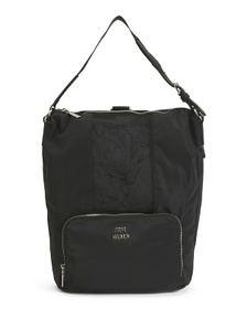 Park Convertible Backpack With Logo Straps
