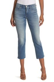 LUCKY BRAND Mid Rise Ava Mini Bootcut Cropped Jean