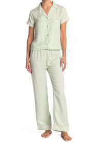 LAUNDRY BY SHELLI SEGAL Short Sleeve Top & Pants 2