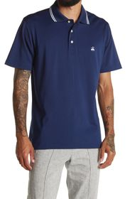 BROOKS BROTHERS Solid Short Sleeve Polo