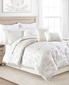 White Garden 14-Pc. Comforter Sets, Created for Ma