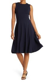 CALVIN KLEIN Fit and Flare Midi Dress