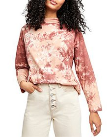 Free People - Be Free Cotton Tie-Dyed Tee