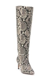 BCBGENERATION Marlo Wide Calf Snake Embossed Boot