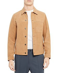 Theory - Patterson Suede Jacket - 100% Exclusive