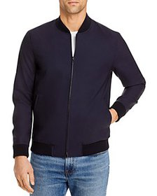 Theory - Aiden Good Wool Slim Fit Bomber Jacket -