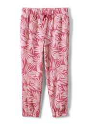 Lands End Girls Terry Cloth Jogger Pants