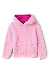 Lands End Kids Cozy Pull Over Sherpa Hoodie
