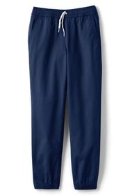 Lands End Boys Iron Knee Pull On Stretch Woven Jog