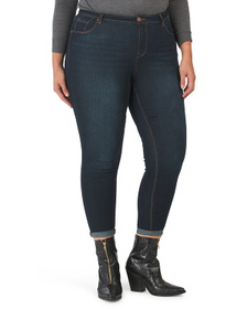 Plus Heritage Baby Roll Jeans