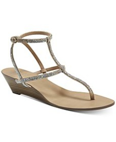 Madge Strappy Wedge Sandals, Created for Macy's