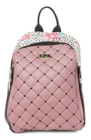 BETSEY JOHNSON Quilted Mid Size Backpack