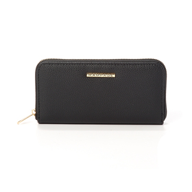 Womens Rampage Long Pebble Solid Wallet