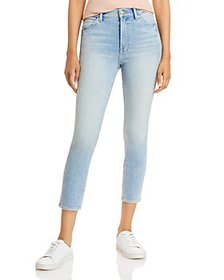 7 For All Mankind - Cropped Skinny Leg Jeans in Ka