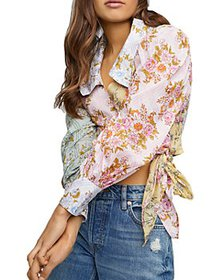 Free People - Lucky Penny Wrap Top