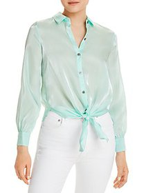 VINCE CAMUTO - Tie Front Shirt