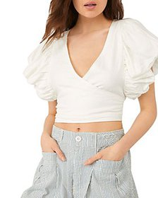 Free People - Can't Get Enough Wrap Top