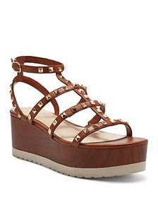 VINCE CAMUTO - Women's Pemolie Studded Strappy Fau