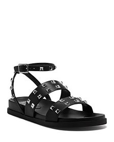 VINCE CAMUTO - Women's Pealan Studded Strappy Leat