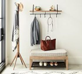 Pottery Barn Lucy Mango Wood Entryway Collection